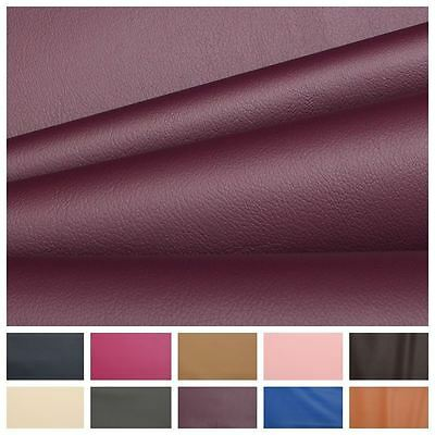 Smooth Grain Fire Retardant Faux Leather Seating Stool Car Upholstery Fabric