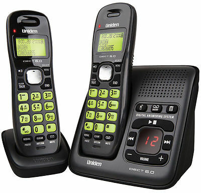 UNIDEN DECT 1635+1 DIGITAL PHONE SYSTEM WITH POWER FAILURE BACKUP Wi-Fi FRIENDLY