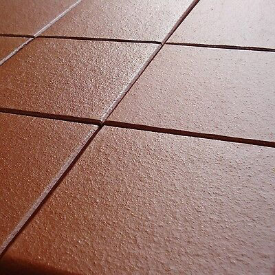 Authentic Quarry Floor Tile in Red / Brown Box of 22 (0.5 sq mtrs)