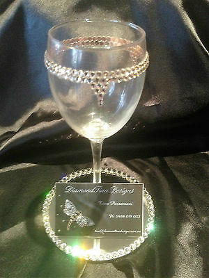 Swarovski Crystal Decorated Wine Glass