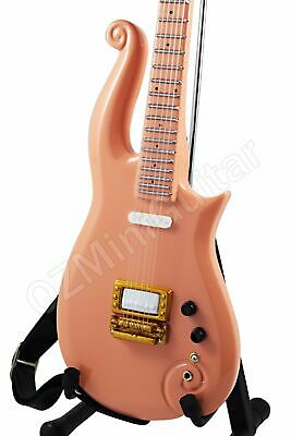 Miniature Guitar PRINCE Cloud Peach & Strap