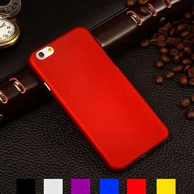 For Apple iPhone/iPod Ultra Thin Slim Premium Hard Back Snap On Shell Case Cover