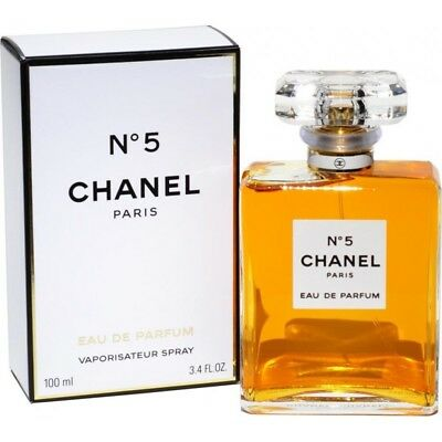 CHANEL n 5 eau de parfum donna vapo spray 100 ml