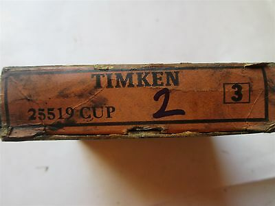 New Timken Tapered Roller Bearing Cup Race 25519 Precision Class 3