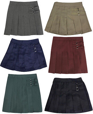 French Toast School Uniform Toddler Girls Two Tab Pleated Scooter Skirt