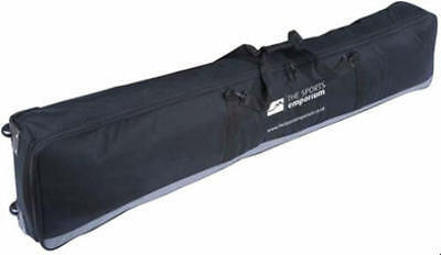 TSE DOUBLE Ski or Snowboard WHEELY Wheelie Padded Bag Up To 160cms