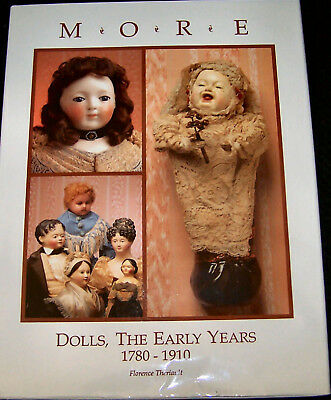 Vintage Rare Early Antique Dolls 1780 - 1910 Great Research More Dolls