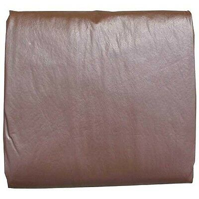 Pool Table Cover - Heavy Duty Commercial 8' Brown Naugahyde Billiard Cover