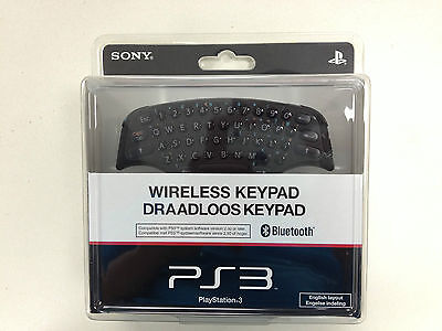 PS3 Official Wireless Keypad For PlayStation 3