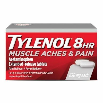 Tylenol 8 Hour Muscle Aches and Pains Caplet -- 1728 per case.