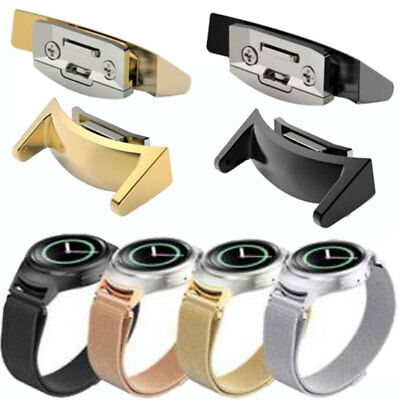 Stainless Steel Watch Band Adapters Connector For Samsung Galaxy Gear S2 RM-720