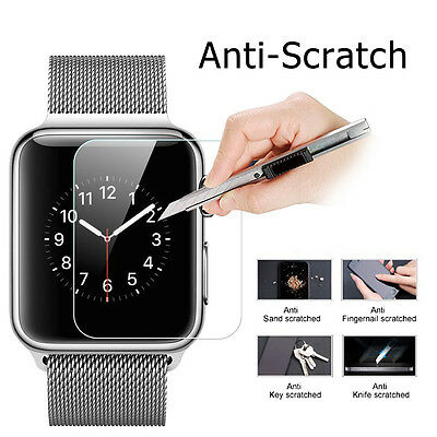 For 38mm Apple Watch Tempered Glass Ultra Clear Screen Protector (Sport/Edition)