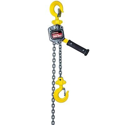 1/4Ton Lever Chain Hoist Hoisting w 5ft Chain & Breaks Hoists Pulls 500 lbs Load