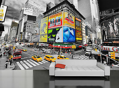 Times Square New York I Wall Mural Photo Wallpaper GIANT WALL DECOR PAPER POSTER