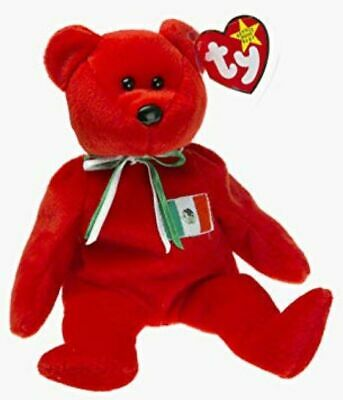 New 1999 Retired Ty Beanie Baby Osito The Teddy Bear Rare No Number On Tush Tag