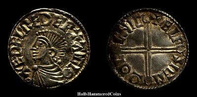 Aethelred II Long Cross Type Penny - Lincoln Mint (HHC3564)