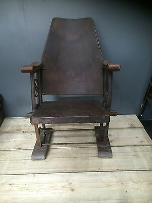 Antique Vintage 1920's Art Deco Cinema Theatre Fold Up Seats Cast Iron Legs