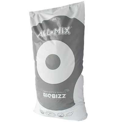 BIOBIZZ ALL MIX 3 SACCHI 50 L SUBSTRATO TERRICCIO MEDIUM BIOLOGICO PERLITE g