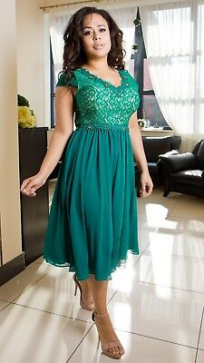 Elegant Ladies Wedding Formal Gown Party Evening Prom Dress  Size 8 - 26