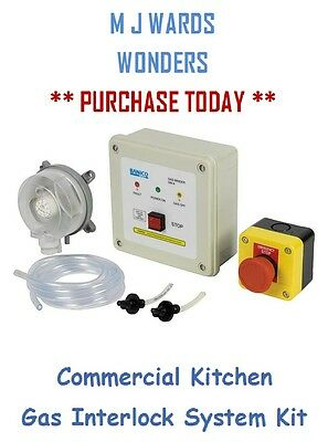 Commercial Kitchen Gas Interlock System Kit