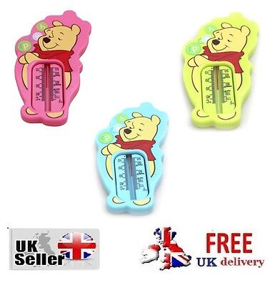 Baby Bath Thermometer Digital Floating Water Temperature Device Winnie The Pooh