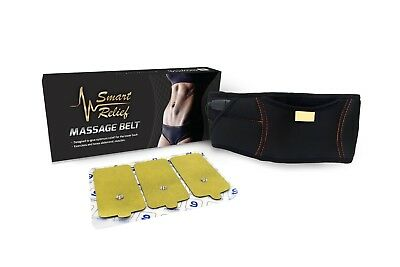 SmartRelief Ab Toning & Back Pain Relieving Belt for TENS Pulse Therapy Devices