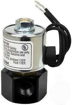 AFC-123 Advanced Fuel Components Solenoid Shut Lock Off Valve Model 12 VOLT