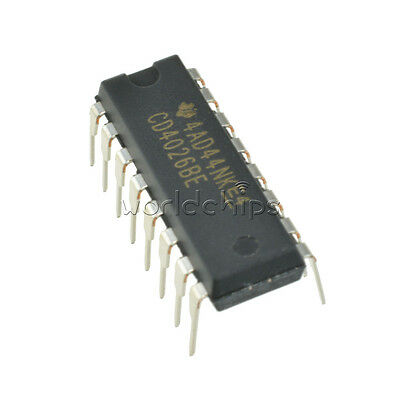 5X CD4017 CD4017BE DIP-16 DECADE COUNTER DIVIDER IC with