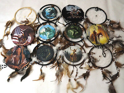 "Wholesale Lot of 10 - 6"" Dream Catchers"