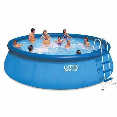 INTEX Easy Set Pool Set 18ft X 48in includes Pump Ladder Ground Cloth and Cover