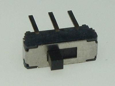 Brand New RadioShack 0.1 A at 12VDC Right Angle Slide Switch # 275-0006