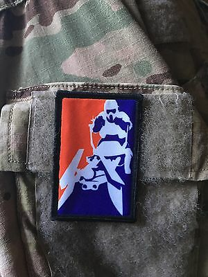 Star Wars Pro Biker Scout Morale Patch Tactical Military USA Hook Badge Army
