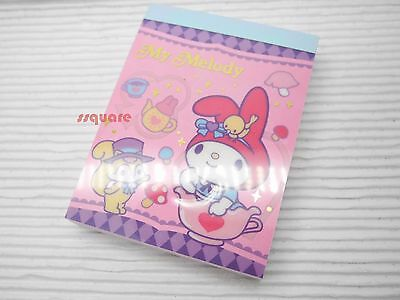 Sanrio My Melody 8 x 6cm Memo Note Pad for leaving simple message, 100 sheets