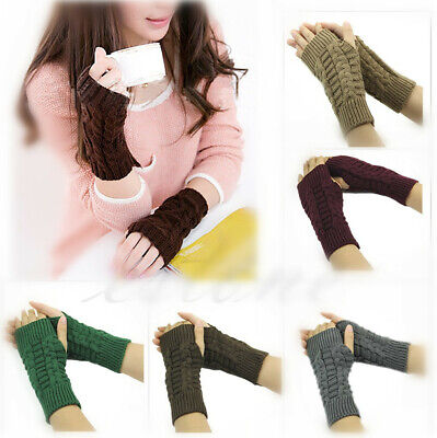 New Hot Selling Knit Fashion Winter Gloves For Women Men Unisex *Aus Stock*