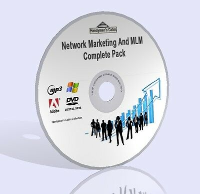 Network Marketing And MLM Complete Pack - Video, Guides, & More! DVD