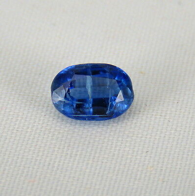 TOP BLUE KYANITE : 1,12 Ct Natürlicher Blau kyanit / Disthene , Rhaeticite