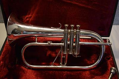 Antoine Courtois Silver Flugelhorn -  Paris, France - Free Shipping Usa Only