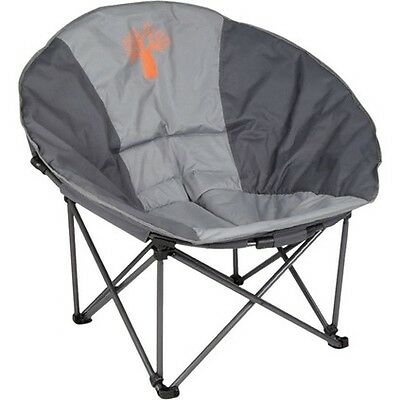 Boab Deluxe Moon Chair - Grey, Quad Fold, 100kg