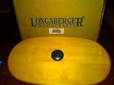 LONGABERGER TRADITIONS FELLOWSHIP BASKET LID New