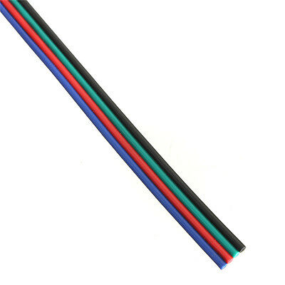 RGB LED Strip Extension DC Cable 4 Core 24AWG