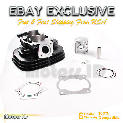 Cylinder Piston Rings Gasket Top End Kit for Yamaha Blaster 200 YFS200 1988-2006