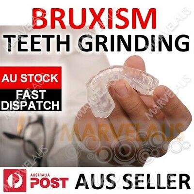 Dental NIGHT GUARD Custom MOUTHGUARD Stop Teeth Anti Grinding Bruxism Sleep