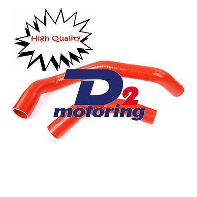 3PLY 4MM RED  SILICONE HOSE RADIATOR KIT For SKYLINE R32 R33 R34 GTR