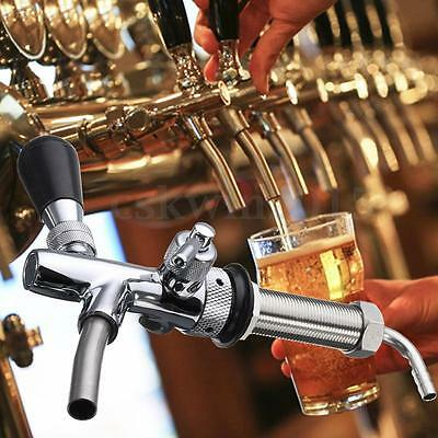 Adjustable Draft Beer Faucet With G5/8 thread 98mm Shank Beer Tap For Kegerator