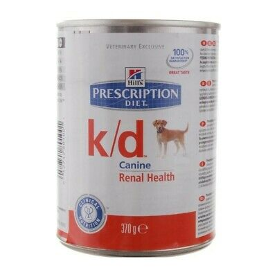 HILL S prescription diet k/d cane mangime umido 12 lattine da 370 gr.