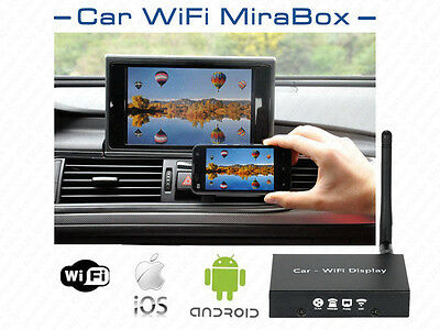 In-Car WIFI Converter Display for Android 4.2 iOS 6/7/8 Airplay Miracast Mobile