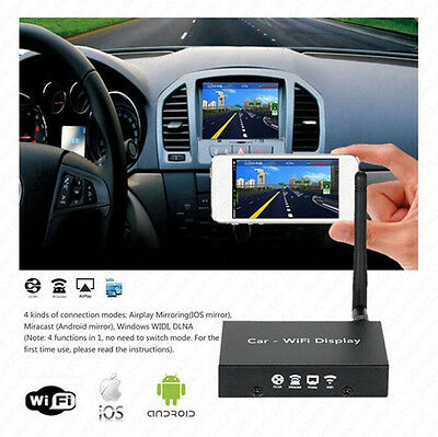 Wi-Fi Smart Screen Mirroring Box for Android iOS Phone Navigation Car Miracast