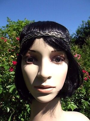 Headband, Bijoux De Tete, Satin Tresse, Inde, Fashion