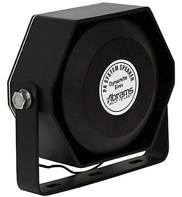 Compact 100 Watt High Performance Siren Speaker (Capable with Any 100 Watt Siren