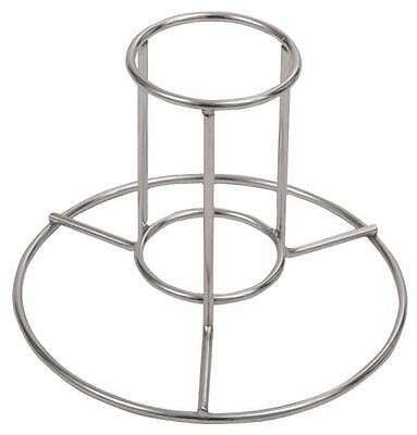 0880PDQ Chicken Rack, 12 Oz Beer Can, Stainless Steel